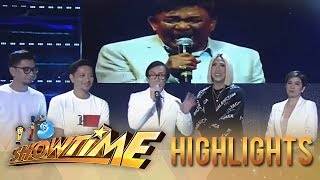 It's Showtime: Hurado Rey Valera shares about  his friendship with Rico J. Puno