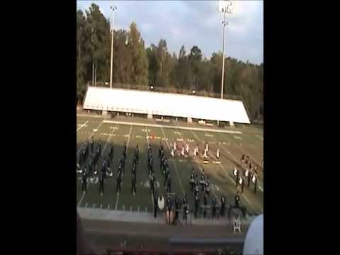 Jemison High School Blue Regiment -- Lake Martin Invitational (LMI Band Competiton) 10/6/12