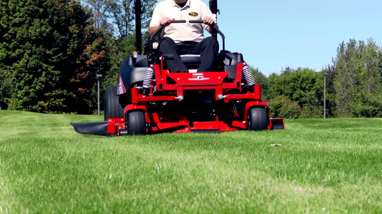 Commercial Lawn Mowers : Ferris commercial lawn mowers experience suspension youtube