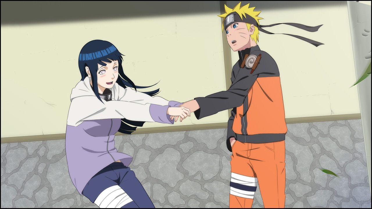 Naruto and hinata meets parents theme