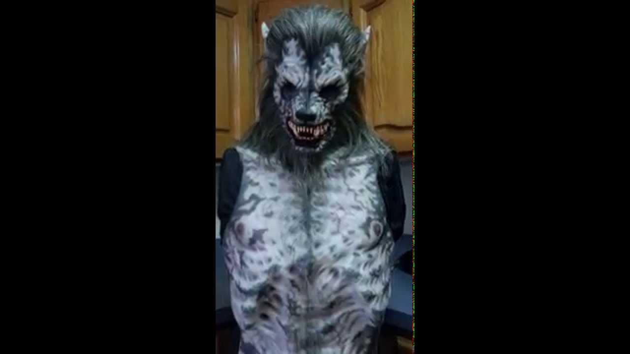Immortal Masks Custom Hellhound Silicone Werewolf Suit - YouTube