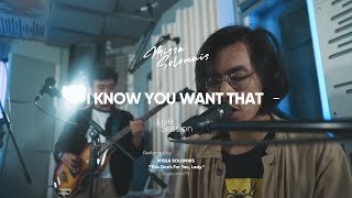 MISSA SOLOMNIS -I KNOW YOU WANT THAT (Live Session at Velvet Studio)