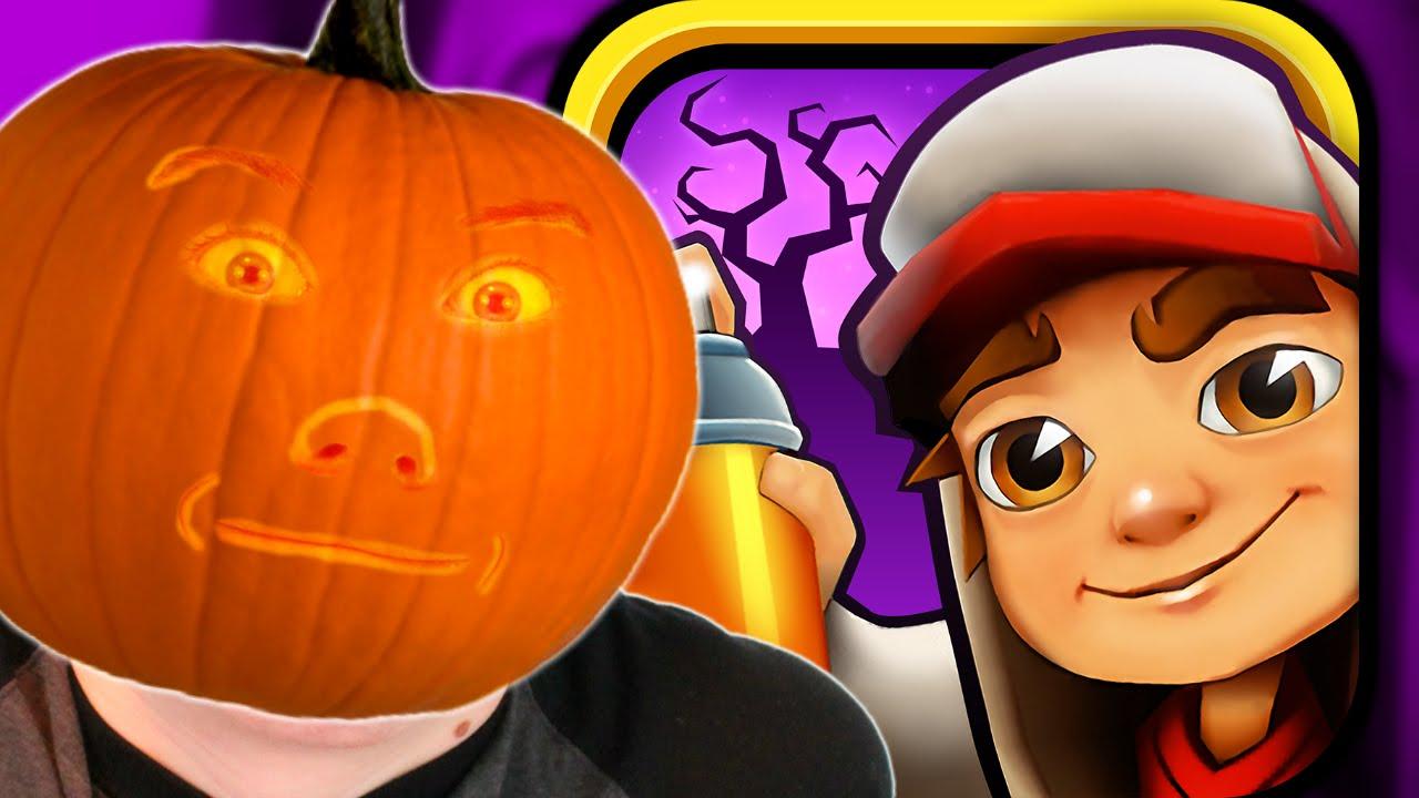 Download Subway Surfers: Halloween - EDDY & PUMPKIN BOARD (iPhone Gameplay Video)