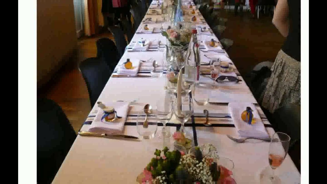 Table de f te d coration youtube - Table de fete decoration noel ...