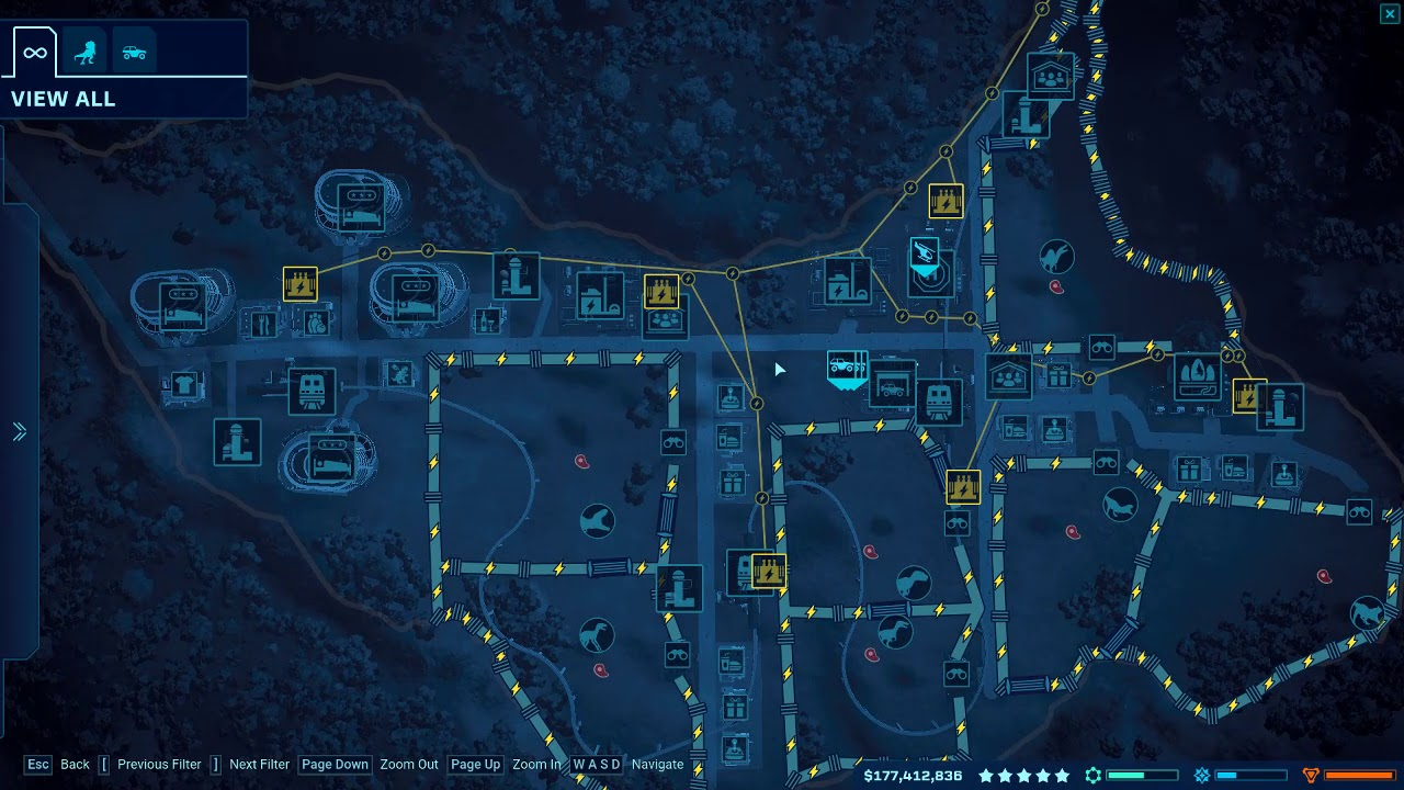 jurassic world isla nublar map