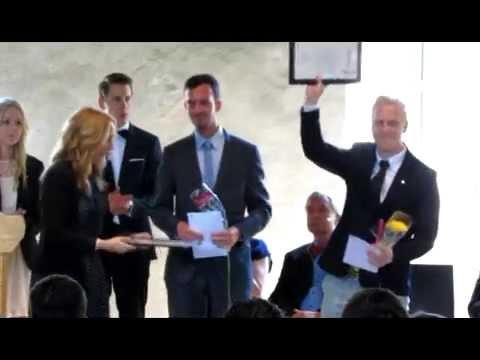Master Exam Ceremony, International Business Strategy, Kalmar University 2014