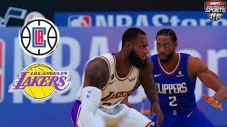 CLIPPERS vs LAKERS FULL GAME HIGHLIGHTS! JULY 30, 2020 NBA SEASON RESTART | NBA 2K20