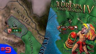 TURISTAS EUROPEUS E A QUASE UNIFICAÇÃO TOTAL! - Europa Universalis 4 #9 - (Gameplay/PC/PTBR) HD