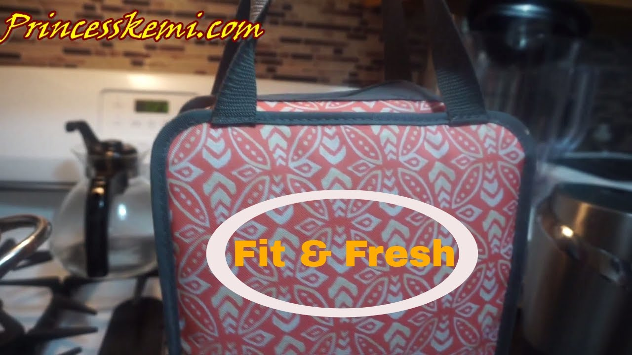 016ec38da8c5 Fit   Fresh Lunch Bag - Let s Make Lunch - YouTube