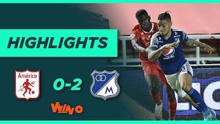 América vs. Millonarios (Goles y Highlights) | Liga BetPlay Dimayor 2020  | Fecha 18