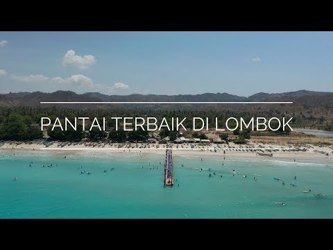 Pantai terbaik di Lombok l Best beaches in Lombok Indonesia