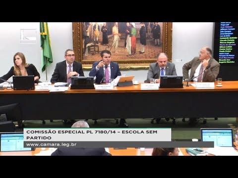 PL 7180/14 - ESCOLA SEM PARTIDO - Discussão e votação - 05/12/2018 - 13:00