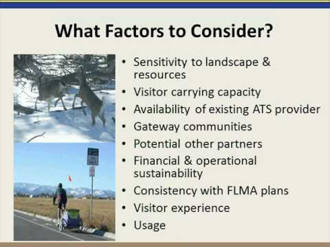 Introduction to Alternative Transportation Systems Planning for Federal Lands