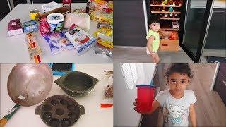 An Afternoon Vlog in Tamil - Shopping Haul - Ragi Semiya Upma Recipe