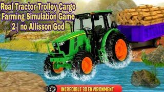 Real Tractor Trolley Cargo Farming Simulation Game JOGO DE SIMULAÇÃO agricultura| no  Allisson God screenshot 5