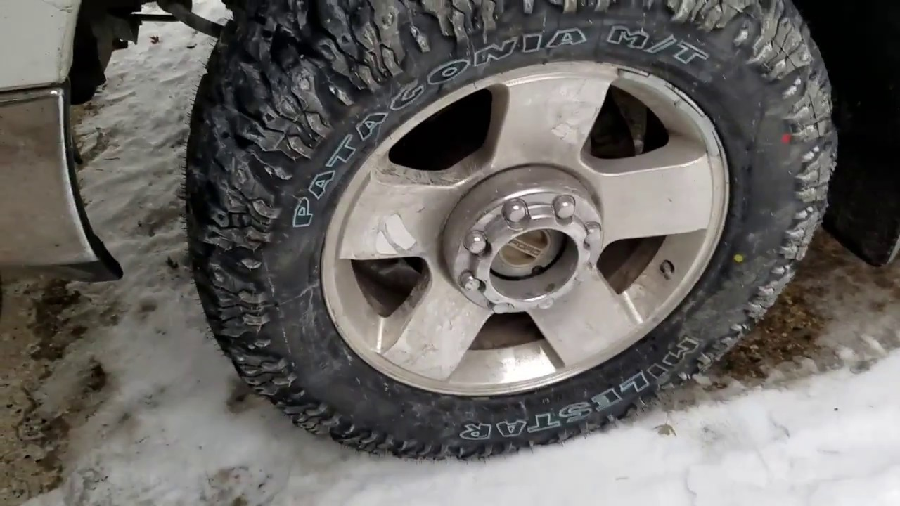 New Mud Tires on the Powerstroke! - YouTube