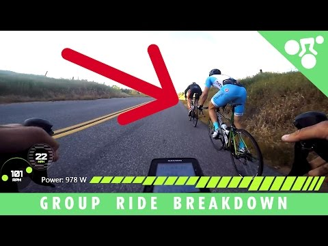Cycling Group Ride Breakdown & Tactics (Cycling Tips)