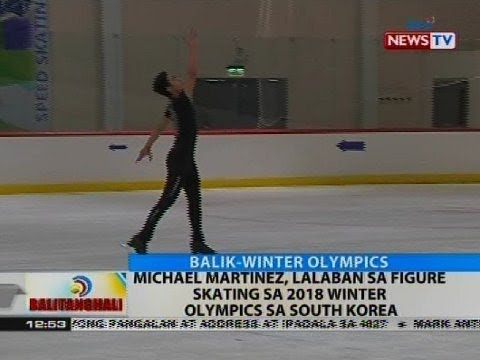 Michael Martinez, lalaban sa figure skating sa 2018 Winter Olympics sa South Korea