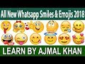 All New Whatsapp Face Emojis And Smiley Meanings  For 2018-Learn The Real Meaning Of Your Emojis,