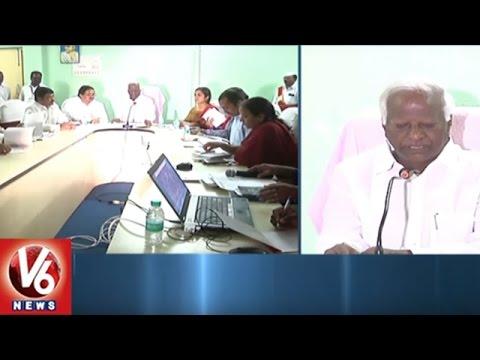 Kadiyam Srihari Review Meet On Kakatiya Urban Development Authority Works | Warangal | V6 News
