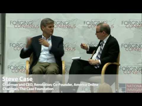 Forging a New Consensus, National Strategy Session (Interview with Steve Case)