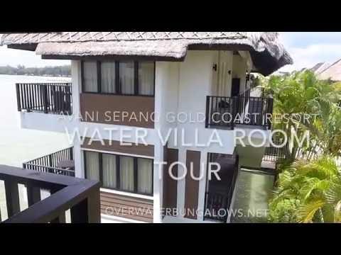 Avani Sepang Gold Coast Resort Superior Water Villa Room Tour
