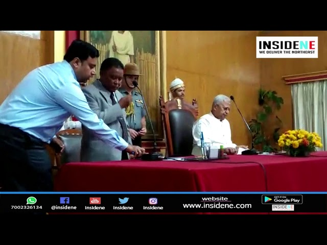 Meghalaya: UDP MLA Brolding Nongsiej Sworn-in as Cabinet Minister