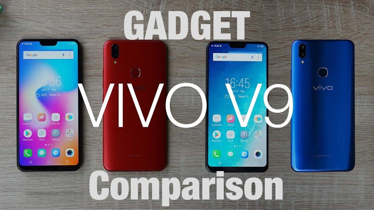 Gadget Comparison Membandingkan Dua Warna Dari Vivo V9 Indonesia