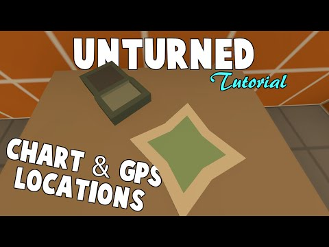 Unturned | Where To Find The GPS & Chart (ALL MAPS)