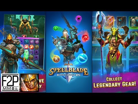 Spellblade : Match - 3 Puzzle RPG Gameplay Android / IOS