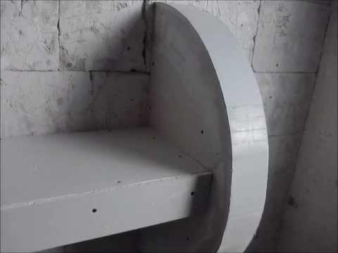 видео: Ниша из гипсокартона