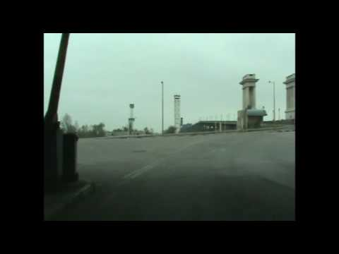 Bulgaria Romania border crossing at Rousse