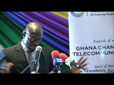 Ghana Chamber of Telecommunications' Launch - Kwaku's Speech