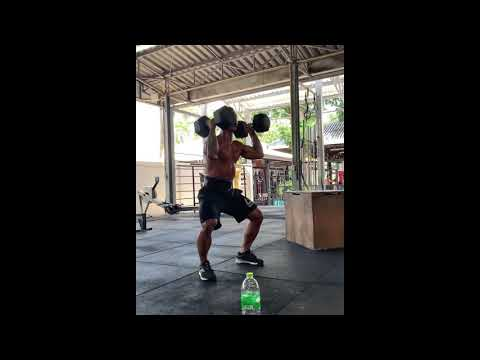 21-15-9 DB hang clean / BBBJO
