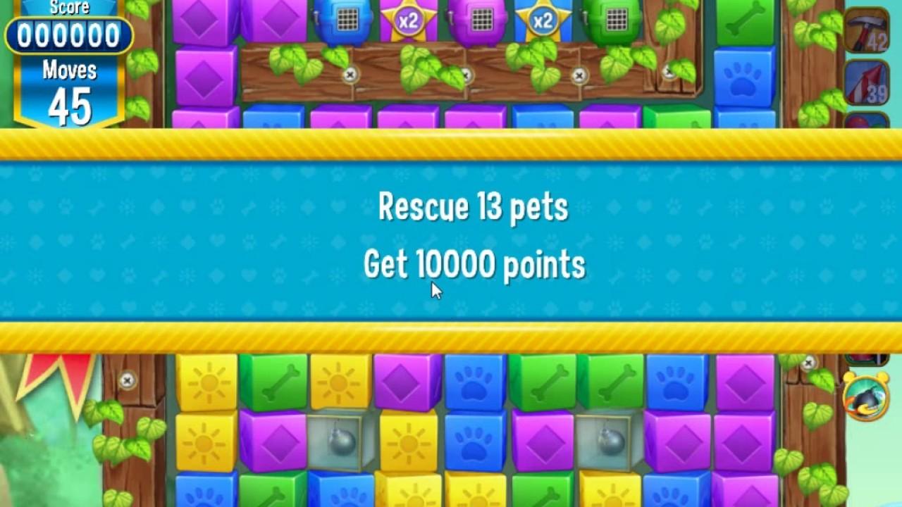 Pet rescue saga pet island 4th august 2017 level 1 2 3 for Pet island level 4