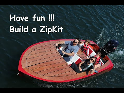 Introducing the ZipKit. A classic wooden boat kit.