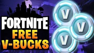 Fortnite-free vbuck giveaway live now