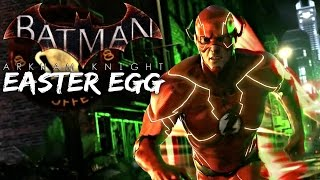Batman Arkham Knight: The Flash Easter Egg