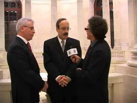 CONG. ENGEL AND HARRY BAJRAKTARI FOR THE 2010 KOSOVA ELECTIONS- BY HALIL MULA OF RTV21