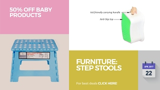 Furniture: Step Stools 50% Off Baby Products