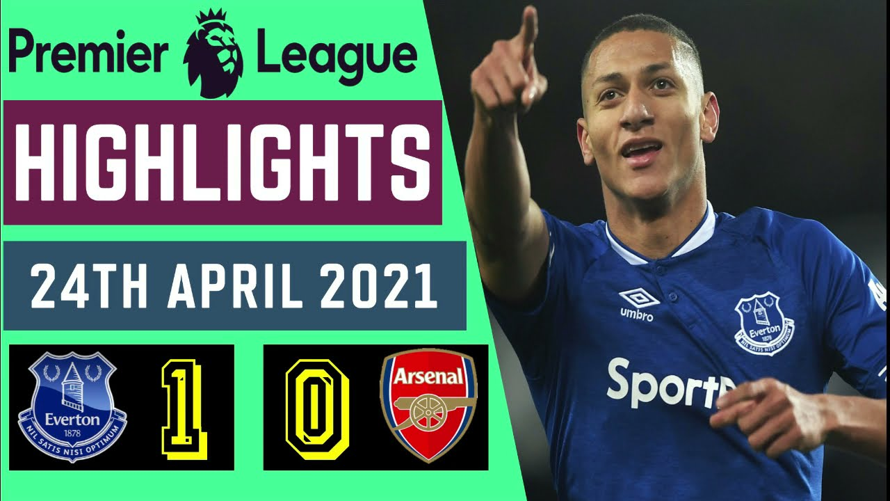 ARSENAL vs EVERTON 0-1 Goal Highlights 2021 //PL// - YouTube