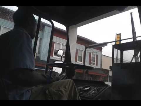 Warren Driving the Gillig Phantom on Rte. A Pt 1/2