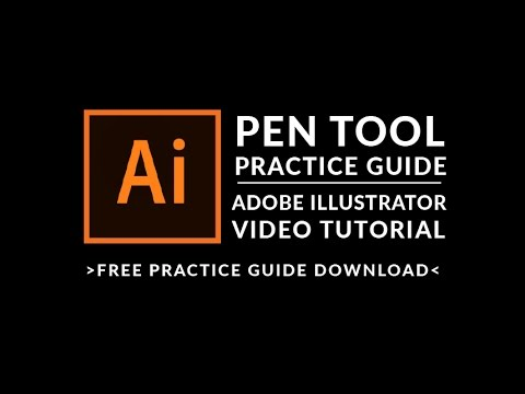 Adobe Illsutrator Tutorial: Pen Tool Practice Guide - Learn Adobe