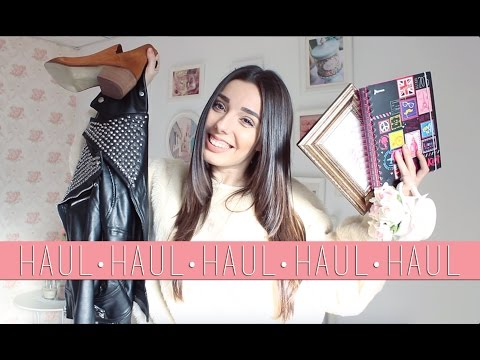 WINTER HAUL | Zara, H&M, Pull and Bear,...