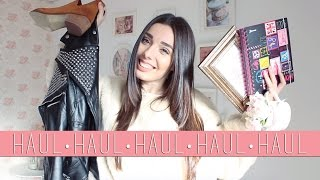 WINTER HAUL | Zara, H&M, Pull and Bear, Mango, Sheinside, Romwe, Chicwish & más...