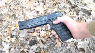 BlackWater BW1911 R2 CO2 BlowBack Airsoft Pistol Review