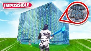 THIS FORTNITE CUBE IS IMPOSSIBLE TO ESCAPE (Fortnite Creative Mode)