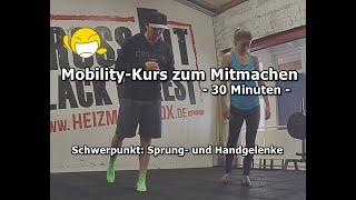RESET Mobility Kurs zum Mitmachen | Schwerpunkt Sprunggelenke/Handgelenke