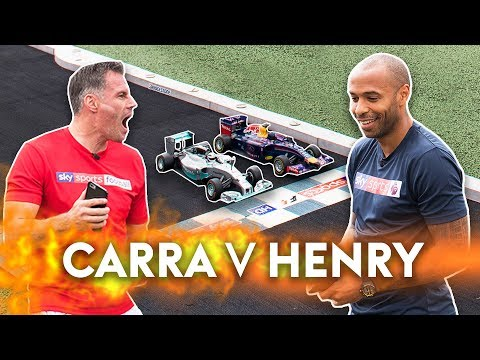 Carragher v Henry | Formula 1 Race! 🏁