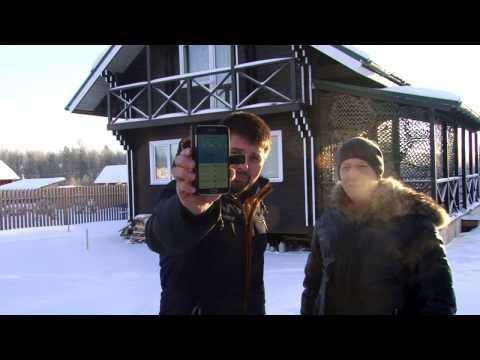 Проверяем утепление эковатой  дома из двойного бруса тепловизором